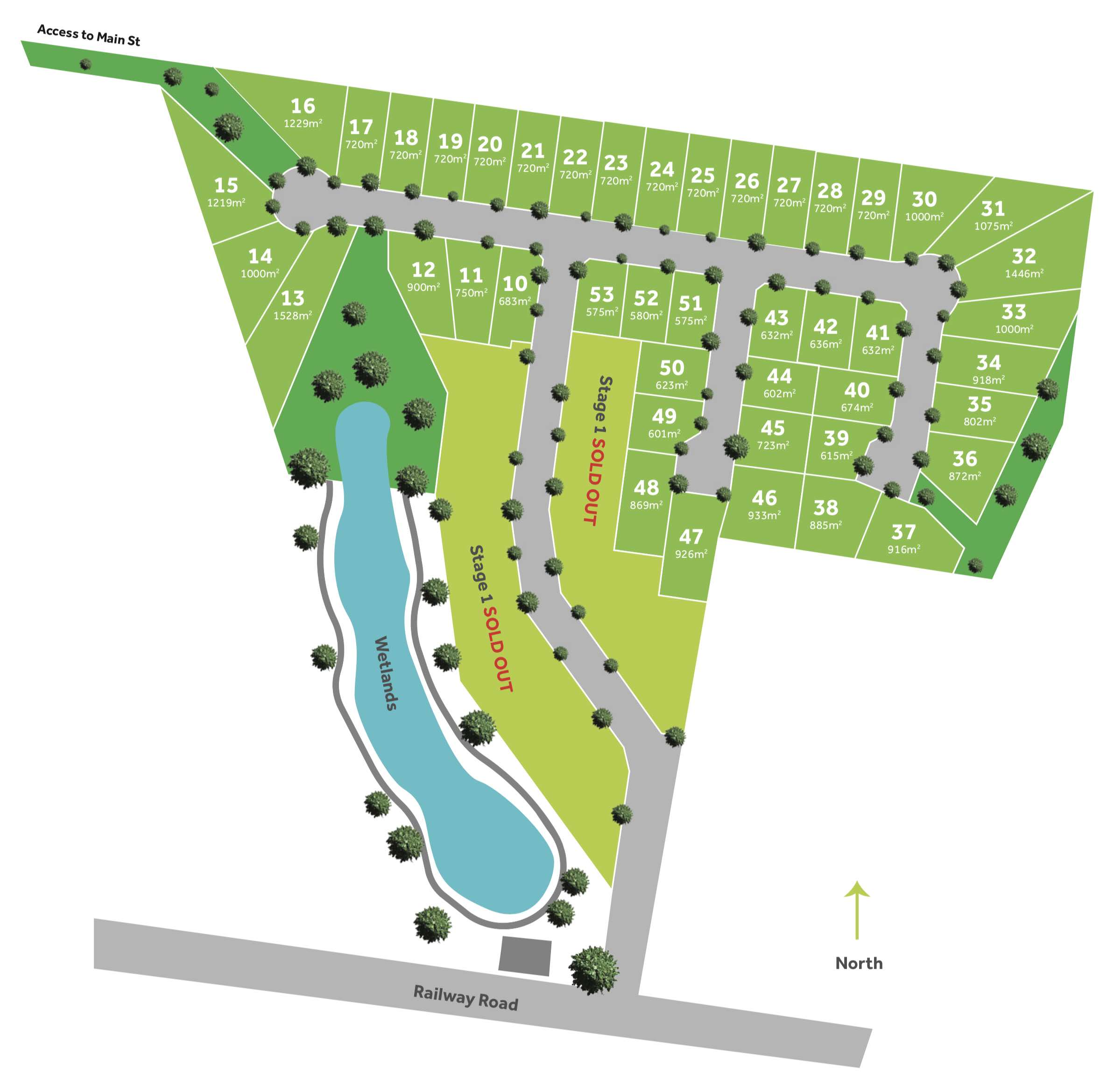 Bentley Park Estate - Neerim South Masterplan