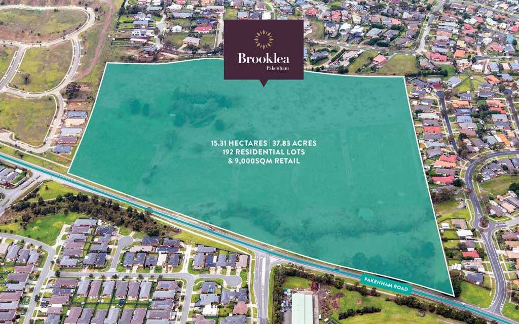 Brooklea Estate - Pakenham Aerial