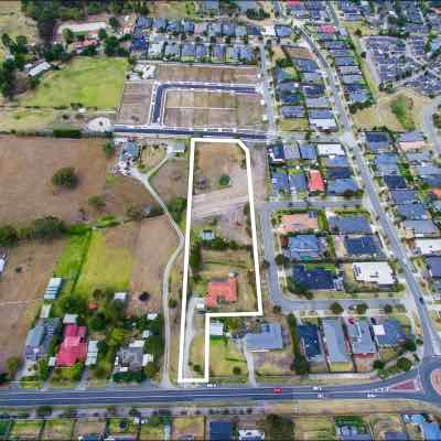 Carey Heights Estate - Pakenham Aerial