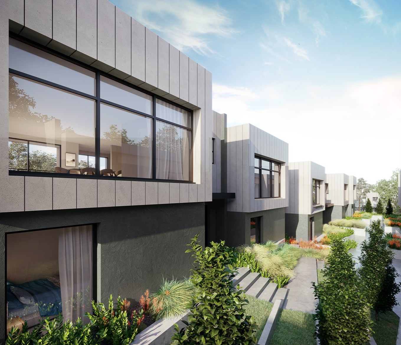 Cumulus Estate - Highton Render