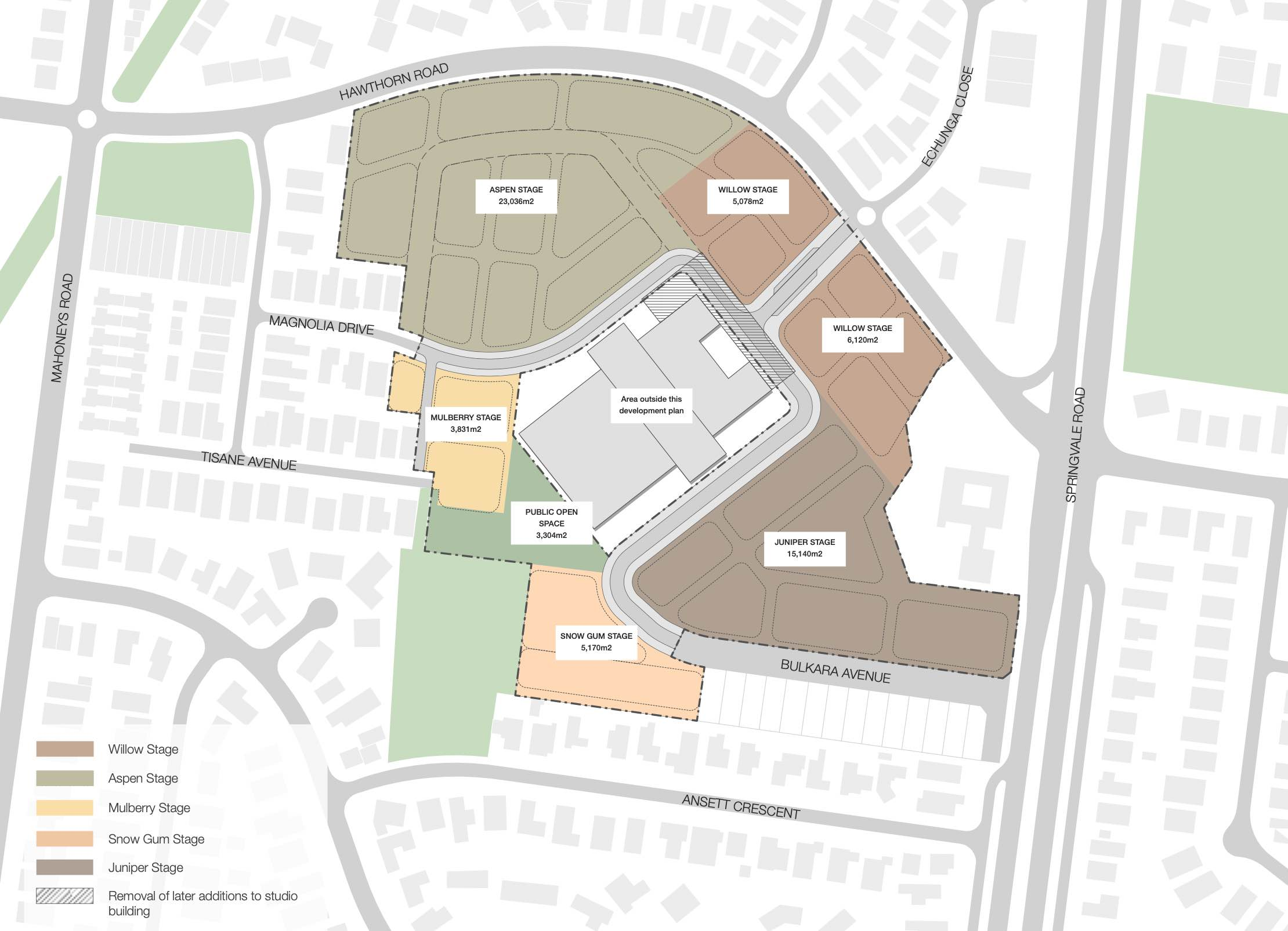 Forest Ridge Estate - Forest Hill Masterplan
