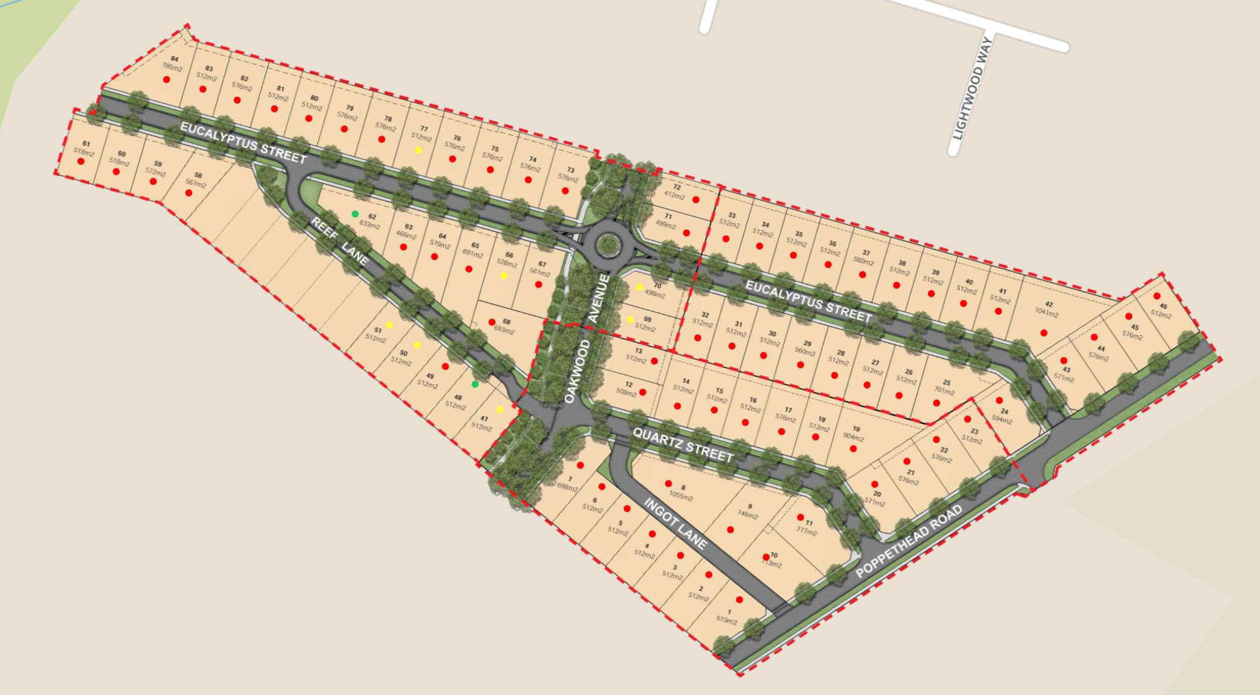 Golden Grove Estate - Jackass Flat Masterplan