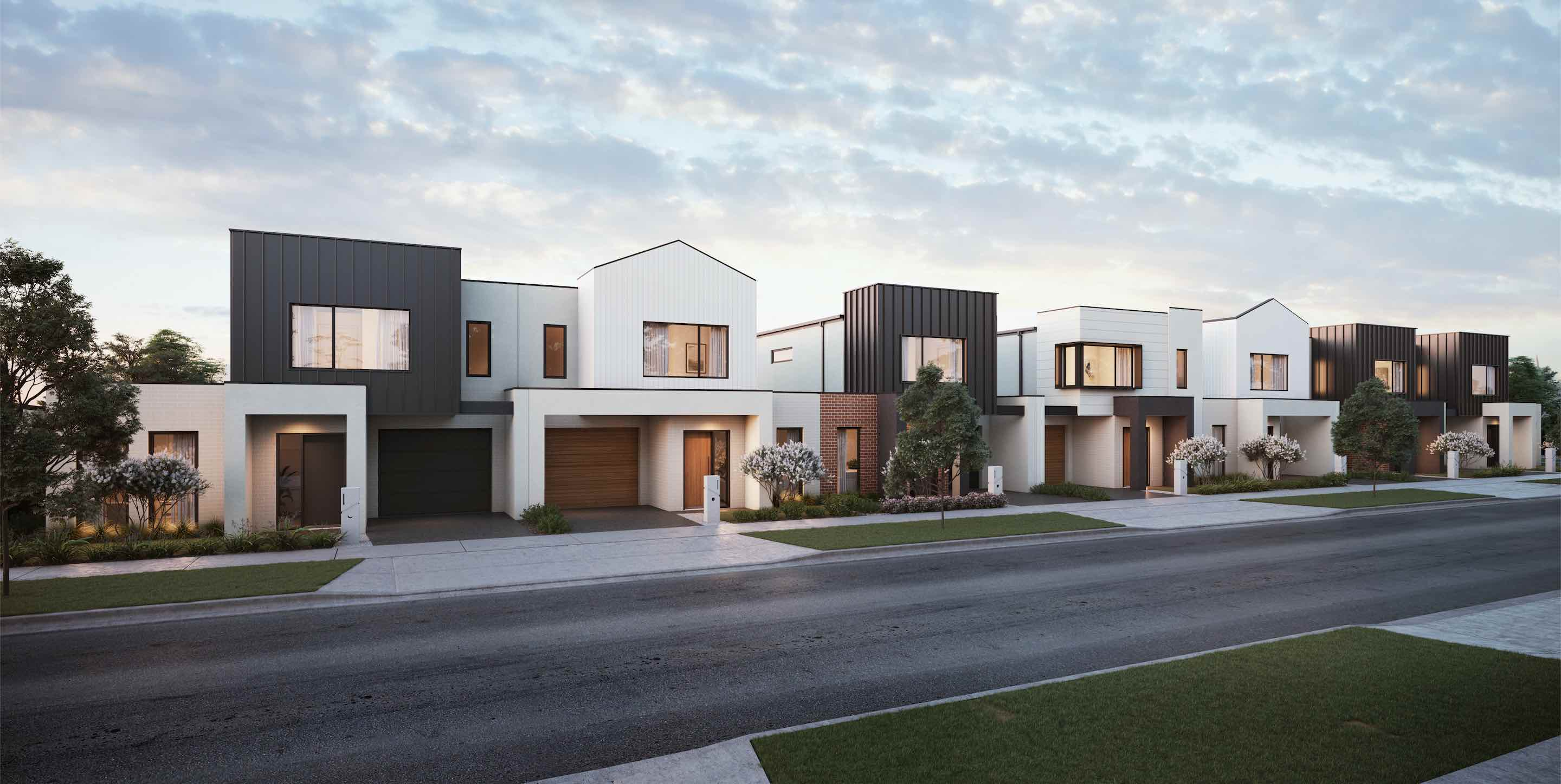 Grangehill in Jubilee Estate - Wyndham Vale Render