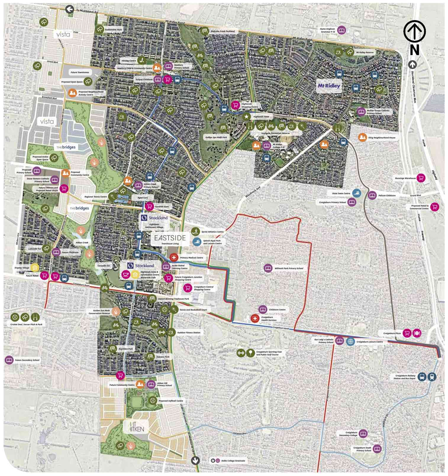 Highlands Craigieburn Masterplan
