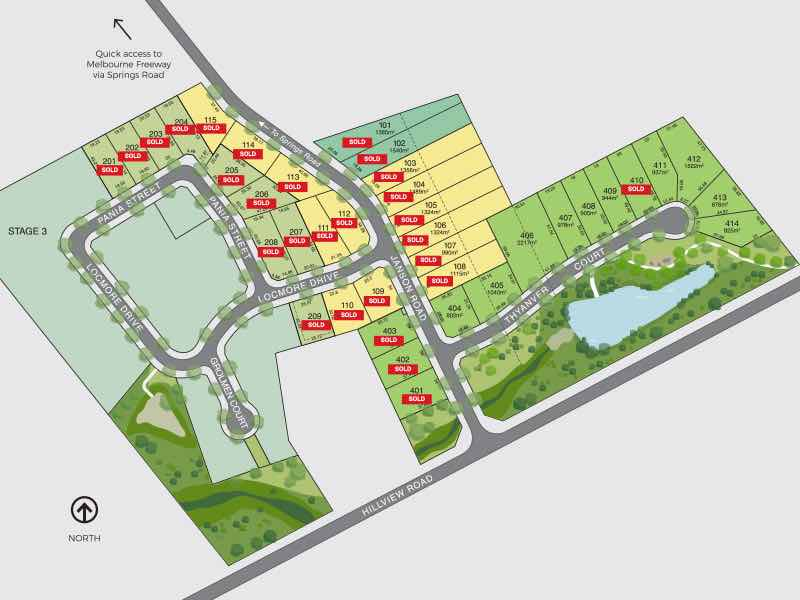 Janson Views Estate - Brown Hill Masterplan