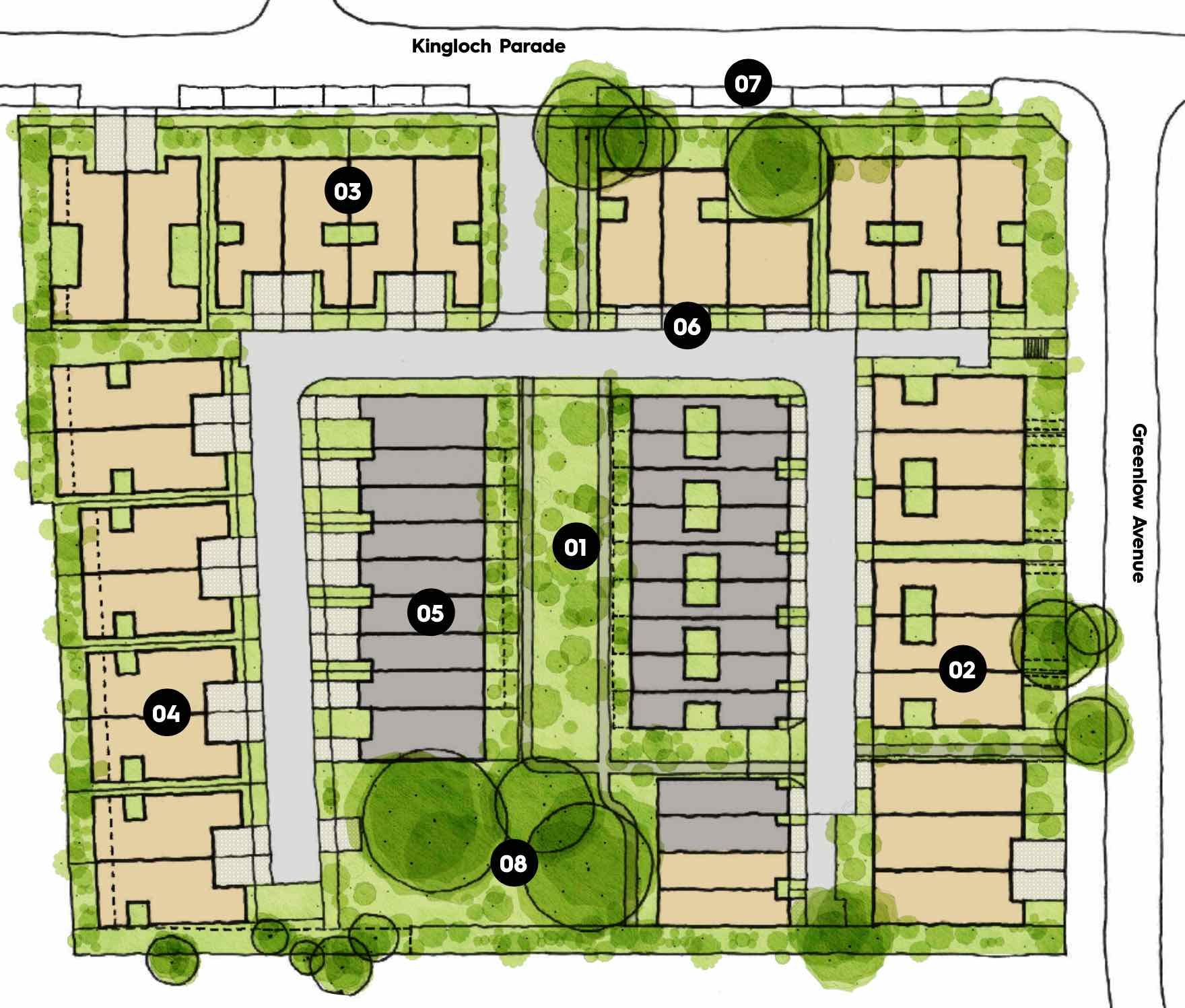 Kingloch Parade Wantirna Masterplan