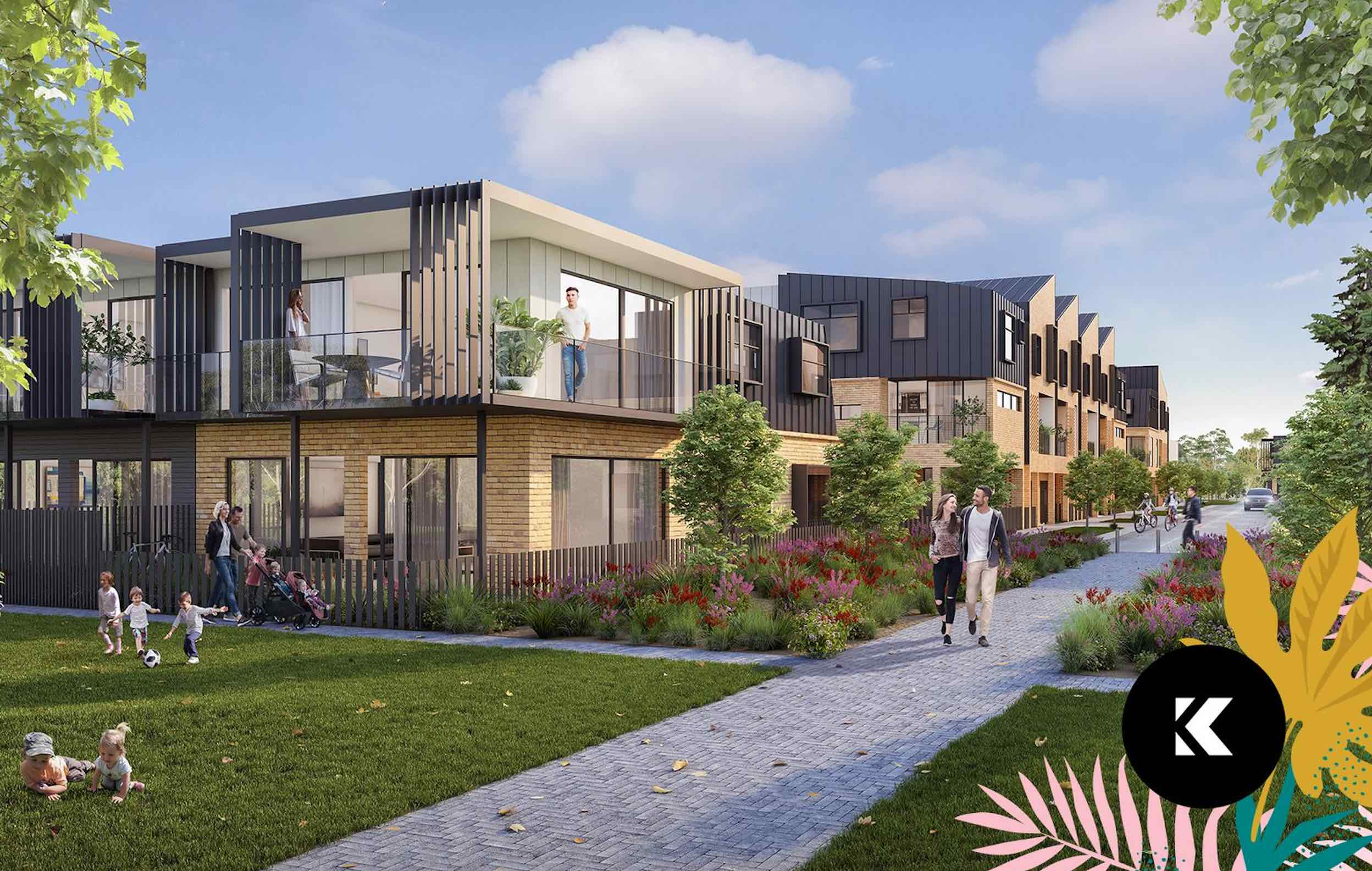 Kingslea Estate - Broadmeadows Render_0