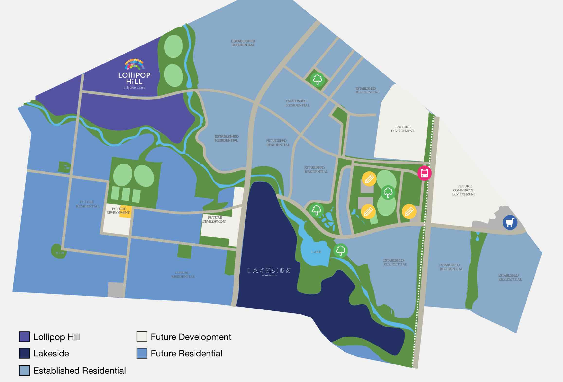 Manor Lakes Masterplan