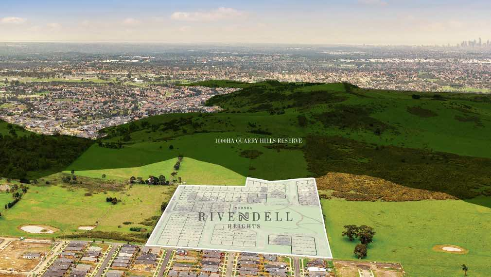 Rivendell Heights Aerial