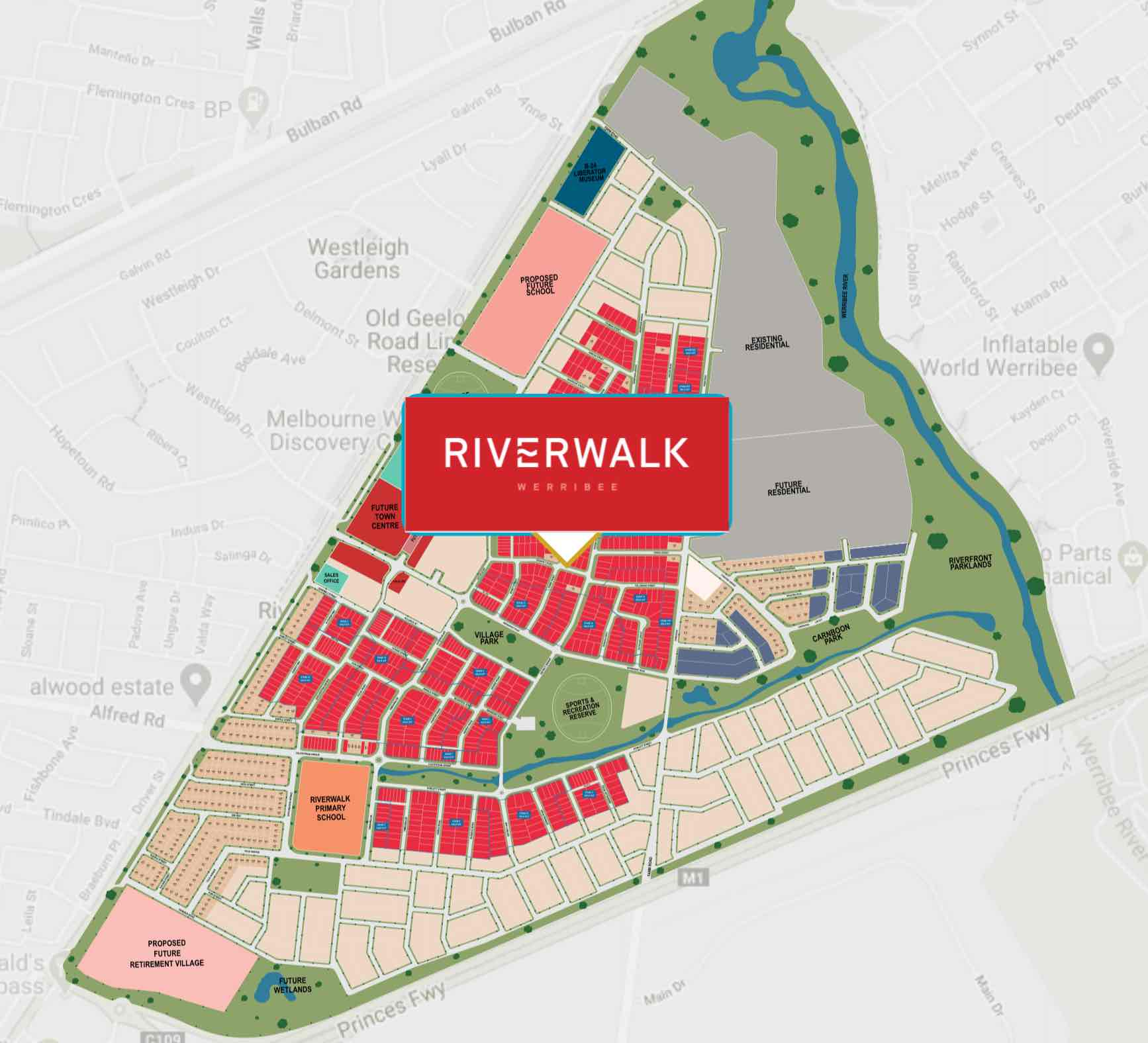 Riverwalk Werribee Masterplan