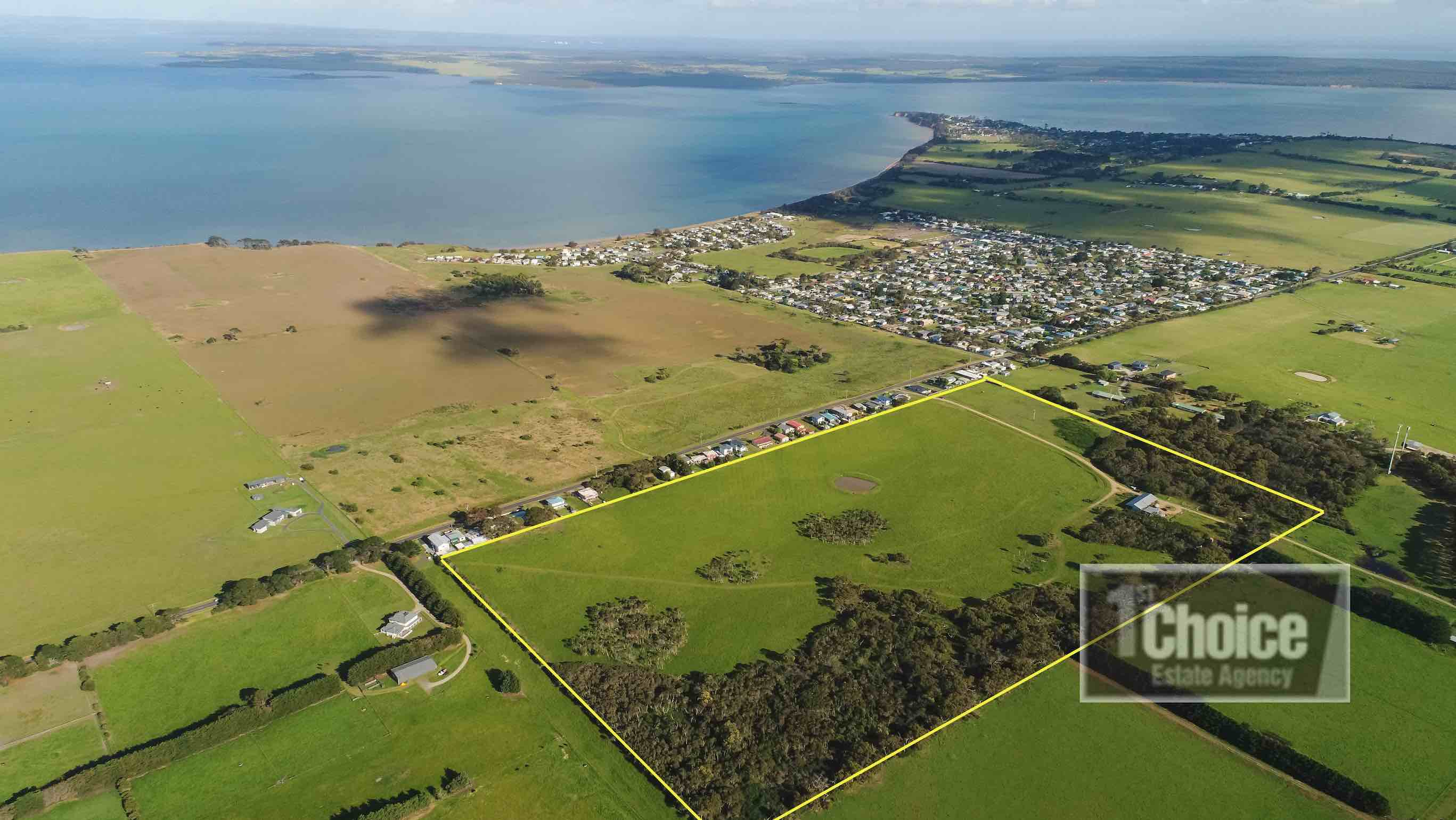 Seascape Rise Estate - Coronet Bay Aerial