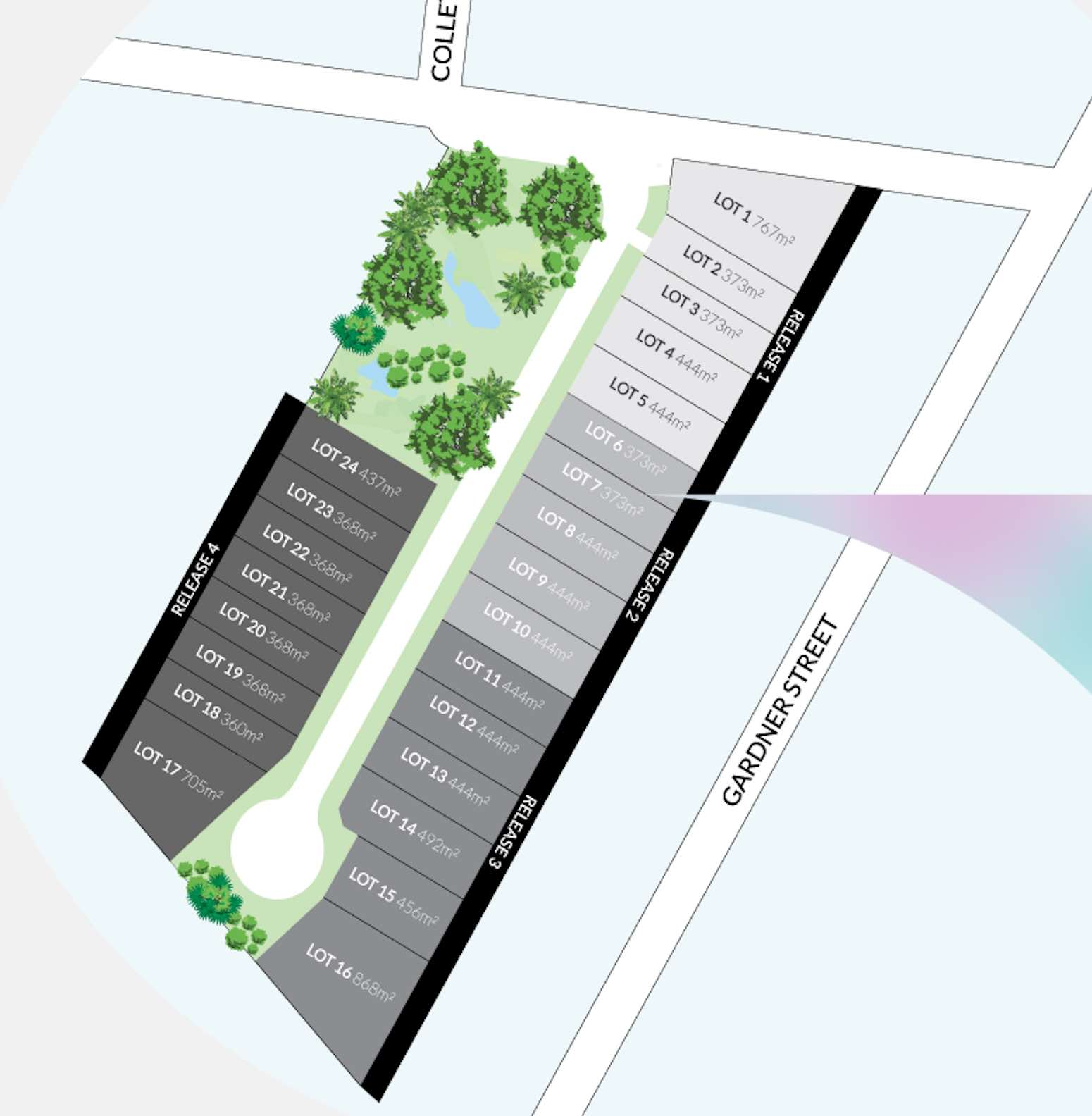 Serenity Court Estate - Longwarry Masterplan