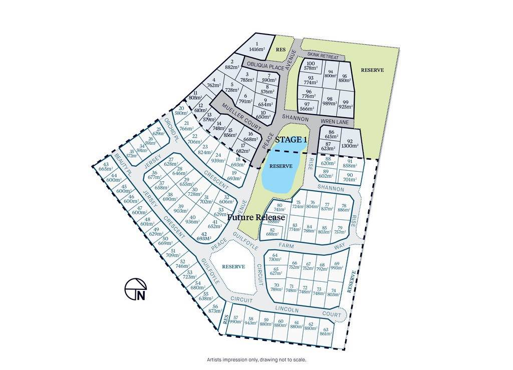 The Gardens Estate - Kilmore Masterplan