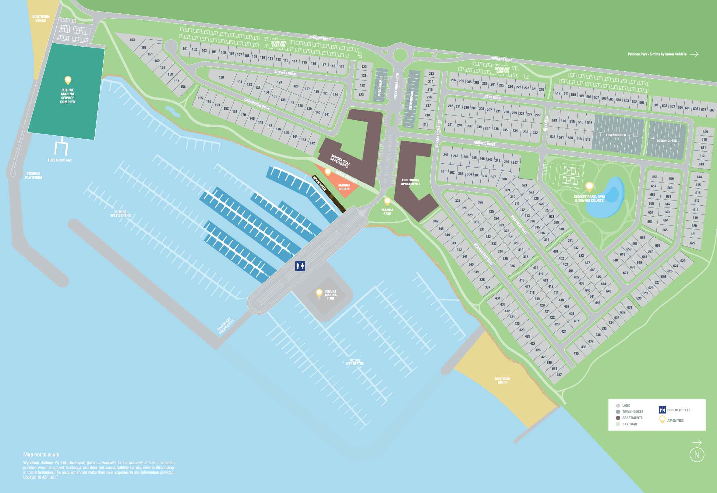Wyndham Harbour Werribee South Masterplan
