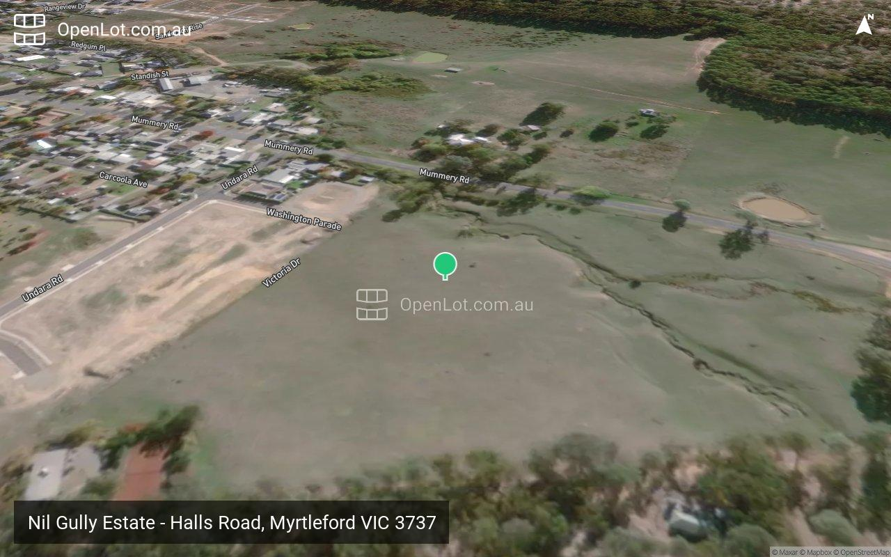 Satellite image for Nil Gully Estate - Halls Road, Myrtleford VIC 3737