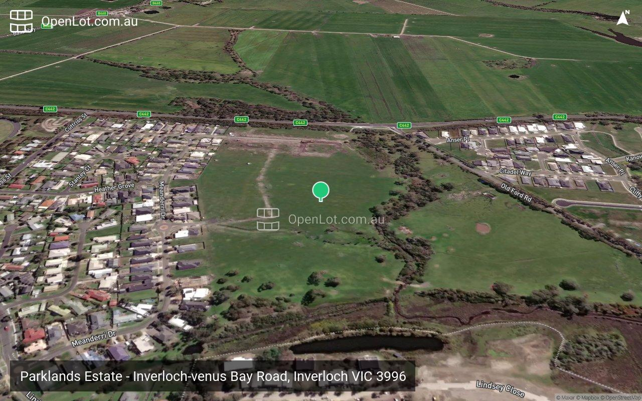 Satellite image for Parklands Estate - Inverloch-venus Bay Road, Inverloch VIC 3996